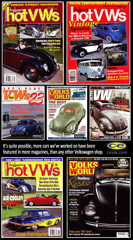 vw magazine covers